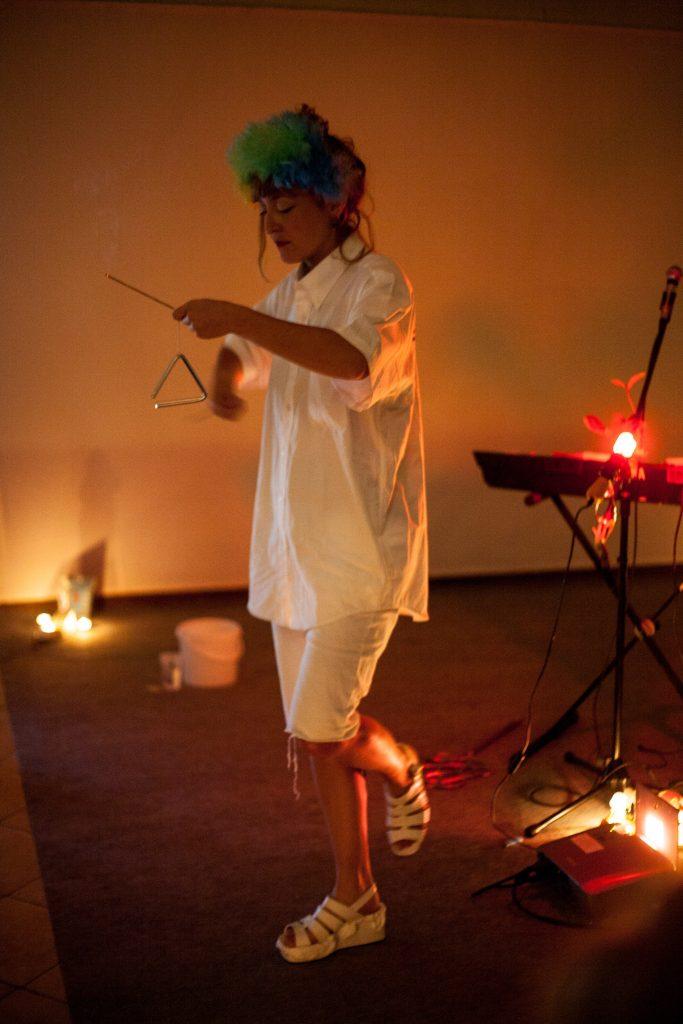 """Le triangle des bermudas"", SETU (festival de performance), Elliant, Bretagne, 2018 @Clément Harpillard"
